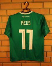 10/10 Reus Germany kids jersey LARGE 2018 soccer away shirt BR3146 Adidas
