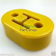 Yellow 8mm EXHAUST MUFFLER POLY-URETHANE HANGER for AUDI VW ASTRA NISSAN HONDA