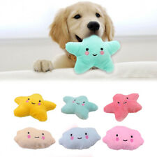 Plush Cloud Shaped Pet Toy Soft Cute Puppy Dog Cat Molar Chew Tooth Cleaning Toy