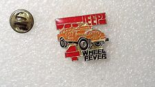 PIN'S JEEP 4 WHEEL FEVER