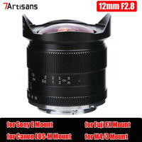 7artisans 12mm F2.8 Ultra Wide-Angle Lens for Fuji X Mount Mirrorless DSLR