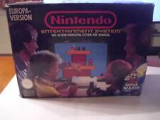 NES Konsole mit Mario Spiel   -   nintendo NES  -  OVP