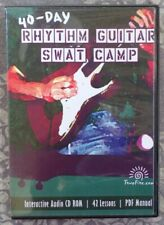 TrueFire 40 Day Rhythm Guitar SWAT Camp by Various Audio only CDROM Course