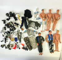 "1990s 12"" Action Man Figure Doll Weapons Accessories GI Joe M&C Formative Lot 18"