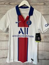 Nike PSG Paris Saint-Germain Vaporknit Match Away/2021 CD4188-101 Men's SM $165