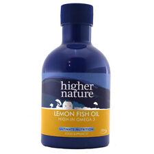 Naturaleza superior, limón, aceite de pescado 200ml