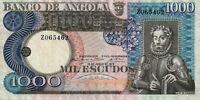 Portugal PORTUGUESE Angola 1000 Escudos 1973 P-108  UNC