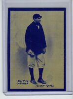 BABE RUTH ROOKIE CARD REPRINT 1914 BALTIMORE EMPIRE TRADING CO. SERIAL # /200