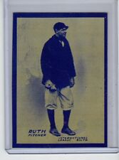 Babe Ruth 1914 rookie card Baltimore Empire Trading Co. reprint serial # /200