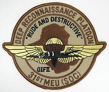 USMC DEEP RECONNAISSANCE PATTALION 31st MEU (SOC) PATCH