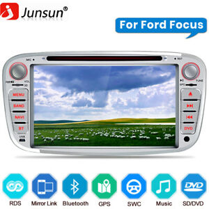 """7""""  Double din Car Stereo Sat Nav GPS DVD For Ford Focus Mondeo S-Max Radio DAB+"""