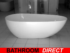 BDA COMO 1700 Egg Shape Free Standing Bath Tub Freestanding Bathtub