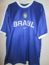"Brazil 2002 Training Football Shirt Size Large 42""-44"" /21636"