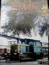 Bollettino FIMF treni 2000 235 Automotrici accumulatori