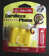 2 CORDLESS GE SANYO PCH01 BATTERY PHONE GES-PCH01