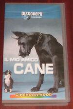"""Videocassetta/VHS """" DISCOVERY CHANNEL IL MIO AMICO CANE """" cod. CHV 9136"""