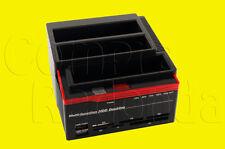 DOCK BASE PARA 3 DISCOS DUROS IDE Y SATA 2,5 3,5 ATA USB LECTOR TARJETAS SD MS
