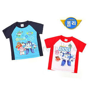 Robocar Poli summer mesh jersey teeshirt *free shipping worldwide!*