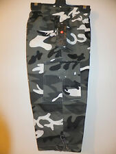 NEW BOYS**FULLY LINED COMBAT- CAMOUFLAGE TROUSERS IN 2 COLOURS SIZE 4-16  YEARS