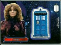 2015 Doctor Who Nyssa Commemorative Tardis Patch Card FREE S/H