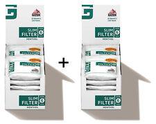 GIZEH SLIM FILTRO mentolato 6mm/20er (FILTER, SIGARETTE FILTRO)
