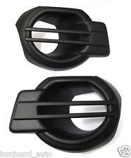 MATT BLACK COVER FOG LAMP SPOTLIGHT LH+RH FOR FORD RANGER 2012-2014 MK5 T6 XLT