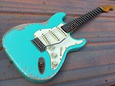Relic Custom Stratocaster Electric Guitar with Fender Standard MIM Pickups Worn