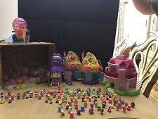Lot Squinkies Beauty Beast Snow White Barbie Little Mermaid  Spongebob Cupcake