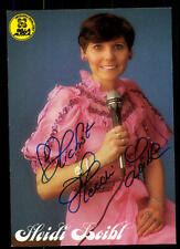 Heidi Loibl Autogrammkarte Original Signiert ## BC 48315