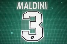 AC Milan 95/98 #3 MALDINI Homekit Nameset Printing