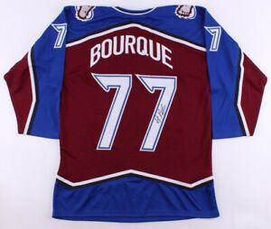 Ray Bourque Signed Avalanche Hockey Jersey (JSA COA) Playing career 1979–2001