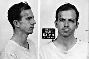 New 5x7 Photo: Mug Shot of Lee Harvey Oswald, Assassin of John F. Kennedy