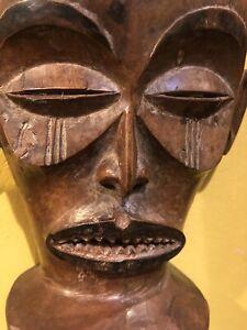 African Chokwe Mask, Beautiful Patina