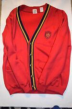 GAP Cardigan Universal International Spirit Embroidered Large VINTAGE 90'S?