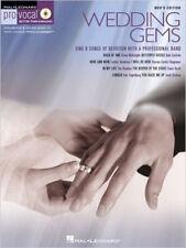 PRO VOCAL VOLUME 8 MENS EDITION WEDDING GEMS VOICE BOOK/CD (Hal Leonard Pro Voca