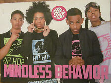 Mindless Behavior, Demi Lovato, Double Full Page Pinup