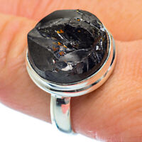 Shungite 925 Sterling Silver Ring Size 9.5 Ana Co Jewelry R36302F