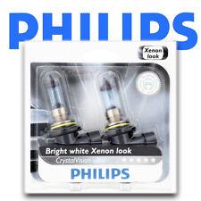 NEW! PHILIPS Crystal Vision Ultra 9006 Xenon HID LOOK Headlight Bulbs 9006CVB2