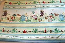 Beatrix Potter Peter Rabbit Benjamin Bunny Victorian Nursery Fabric 100% Cotton
