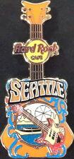 Hard Rock Cafe SEATTLE 2014 City Tee T-Shirt GUITAR PIN - HRC Catalog #80484