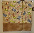 Jungle Animals Pillowcases 2 handmade standard queen Cotton Flannel Camo New