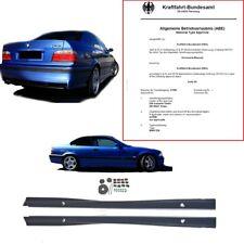 BMW E36 SPORT Seitenschweller Set grundiert +Montagekit auch für M3 M-Paket +ABE