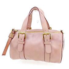 Chloe Handbag Purple Gold Woman Authentic Used T1960