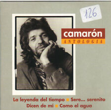 CAMARON - LA LEYENDA DEL TIEMPO + 3 CD SINGLE 4 TRACKS SPAIN PROMO