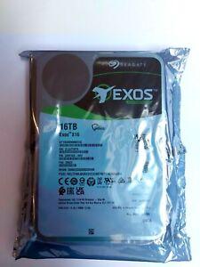 ST16000NM001G Seagate Exos Enterprise X16TB 3.5 Inch  Internal Desktop Drive