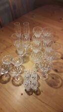 Sammlung Bleikristall-Gläser von Nachtmann 24-teilig Serie unbekannt