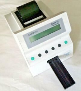 Bayer Clinitek 50 Urine Chemistry Analyzer with 50 test strips & Power Adapter