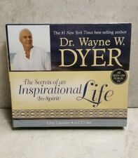 DR. WAYNE DYER The Secrets of an Inspirational Life Unabridged CD Audiobook NEW