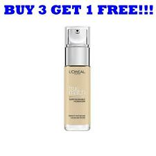 L'Oreal True Match Liquid Foundation 1W Golden Ivory 30ml