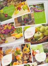 6x Doppelkarte Herbst Motive Collagen mit Spruch -TOP und NEU - mit 6 Umschlägen